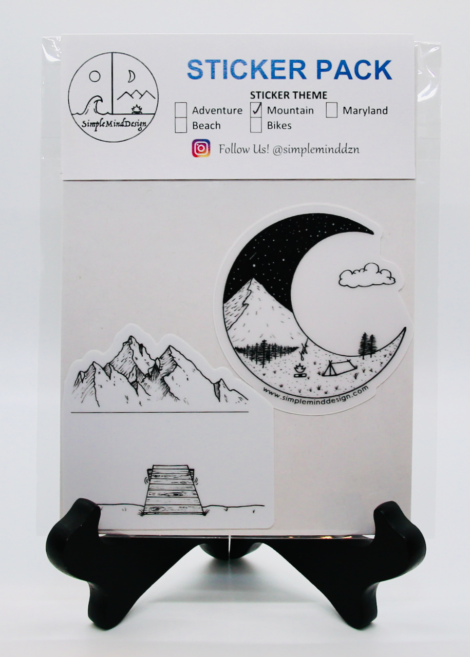 Image of Mountain Sticker Pack