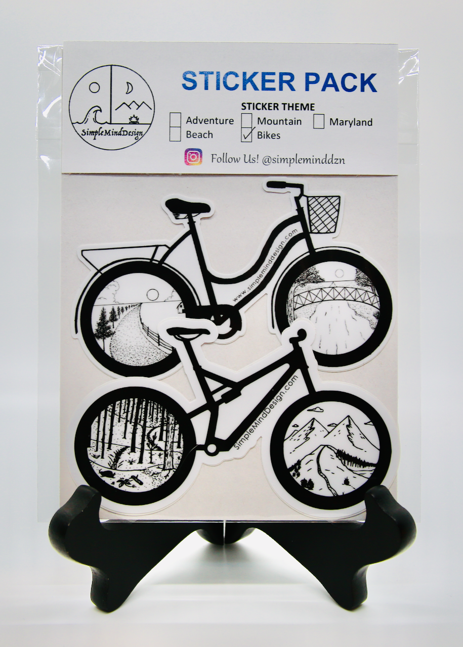 Image of Bike Sticker Pack