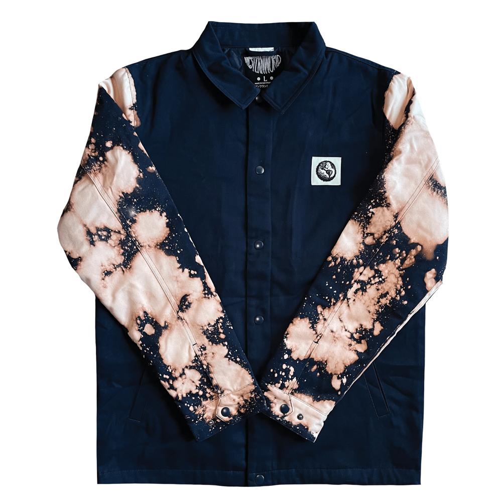 Acid Dye Work Jacket (Navy)