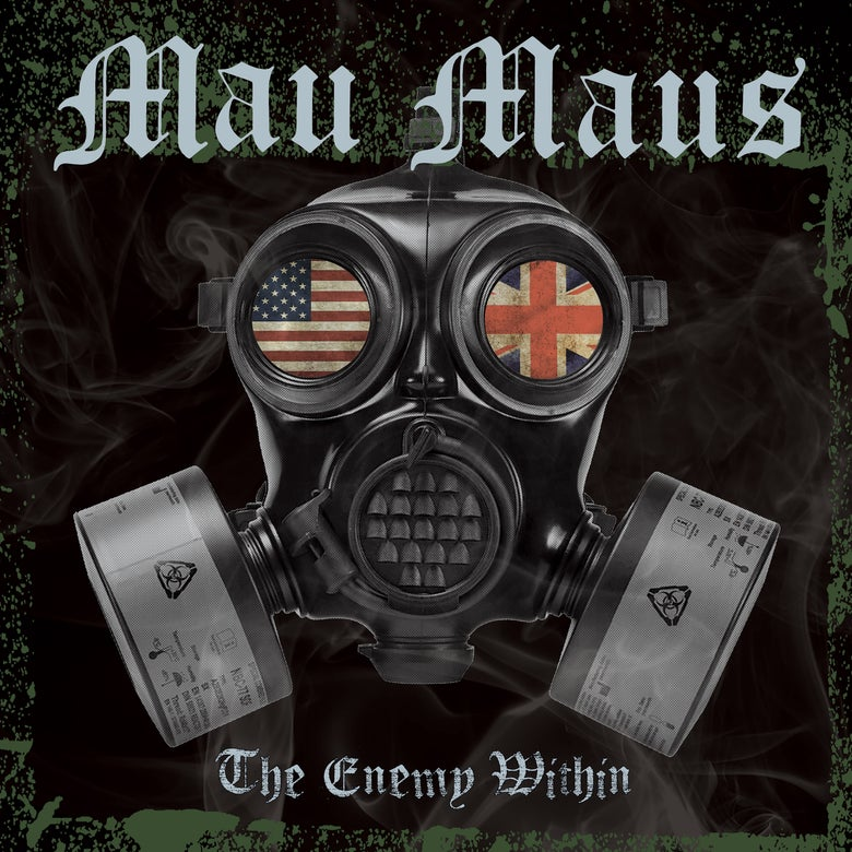 "Image of MAU MAUS - THE ENEMY WITHIN 12"" WITH CD INCLUDED"