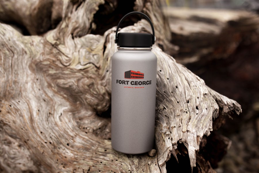 Image of Stainless Steel Growler-Grey (32oz)