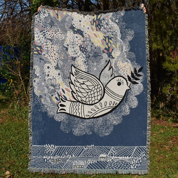 Image of Peaceful Vibes Blanket