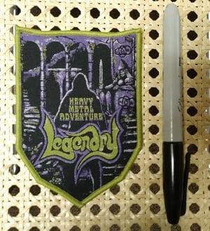 "Image of Legendry ""heavy metal adventure"" LP / CS / CD / PATCH"