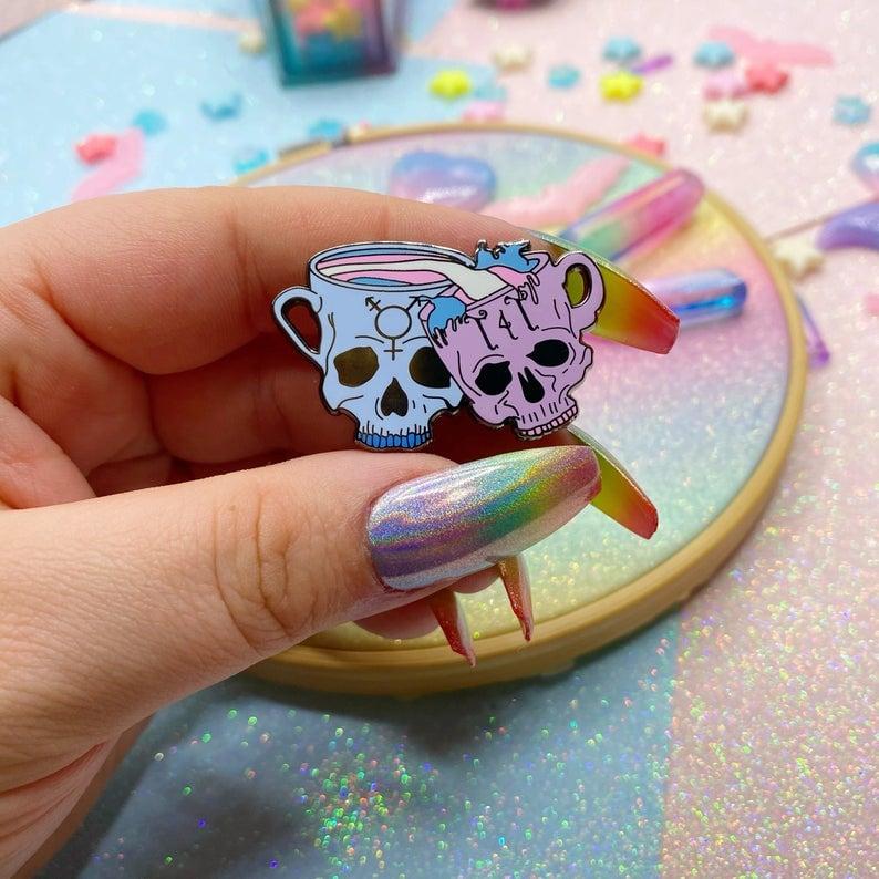 Image of T4T Enamel Pin