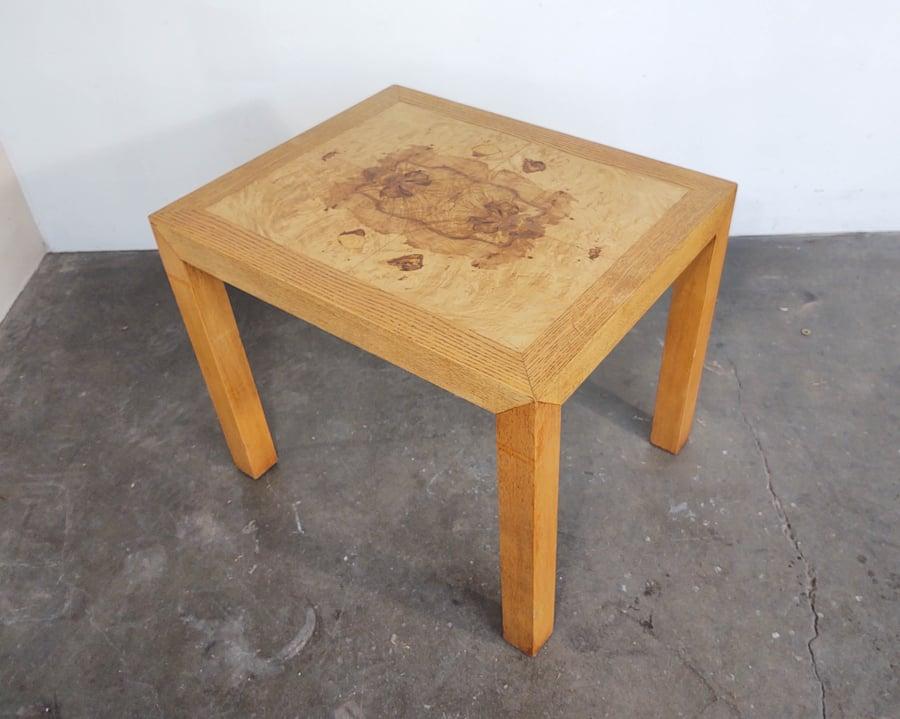 Image of Burl + Oak Parsons Side Table by Lane