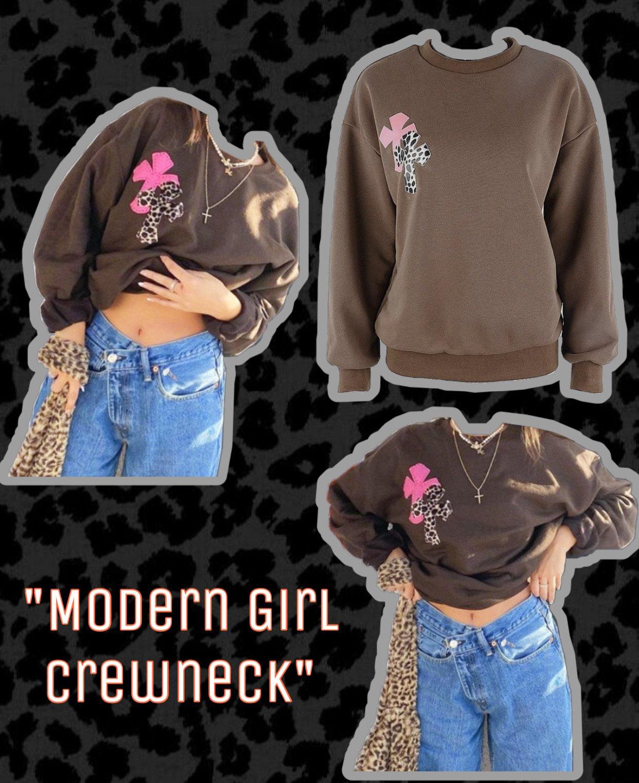Image of Modern Girl Crewneck