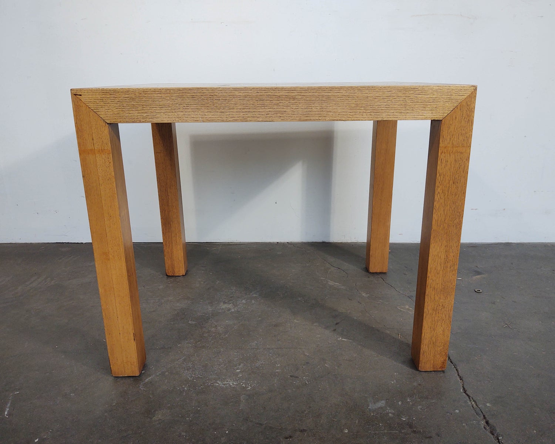 Image of Burl + Oak Parsons Side Table