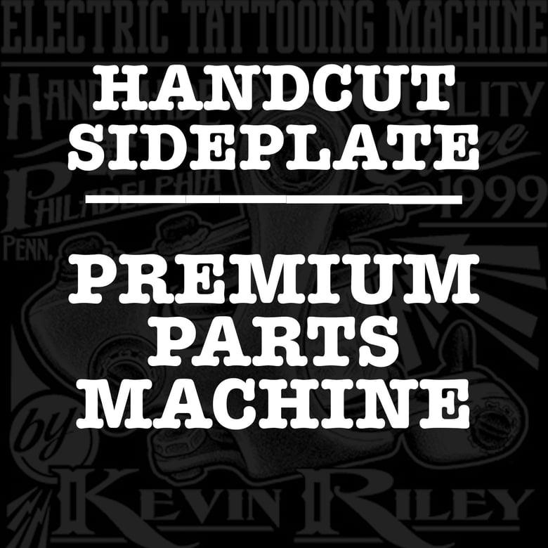 Image of Handcut Sideplate - Custom Order