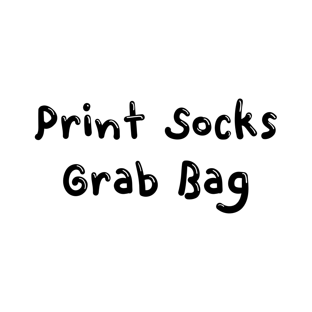 Image of Print Socks Grab Bag