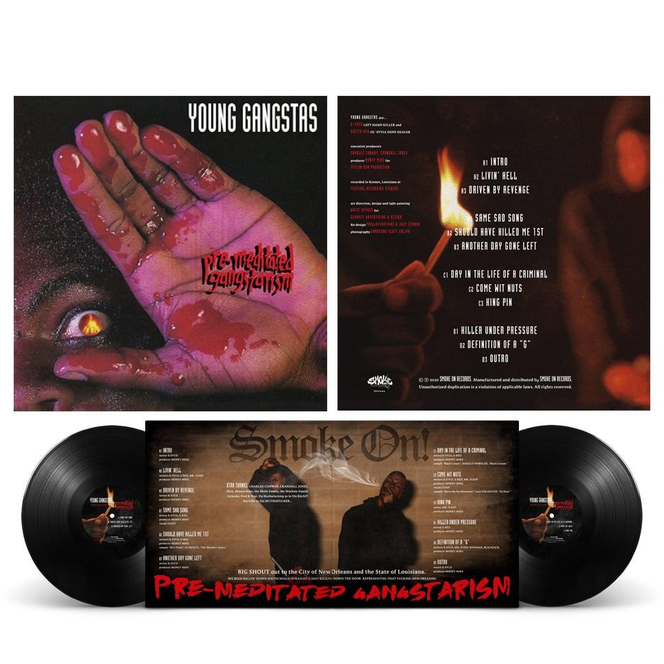 Image of Young Gangstas - Premeditated Gangstarism Vinyl