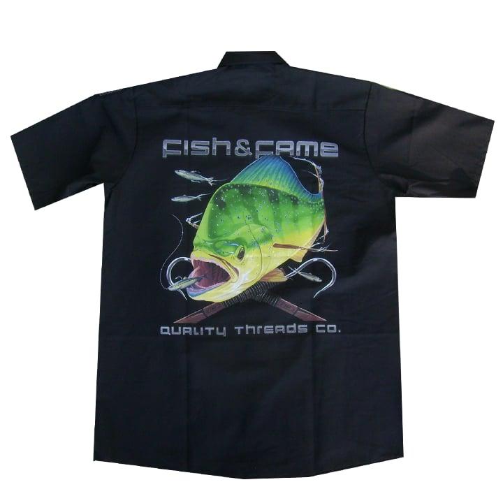 Image of Dorado Crew Shirt (black)