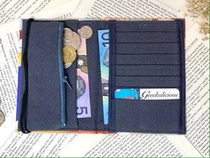 Image of Custom Order the Great Gatsby Book Wallet