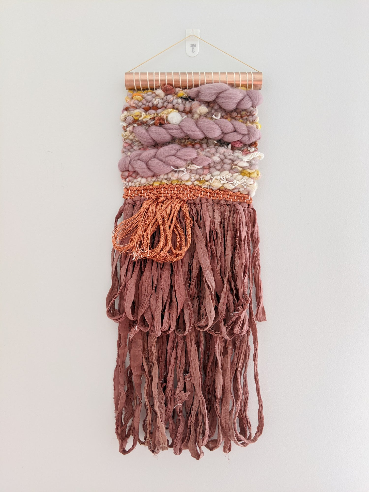 Image of Woven Wall Hanging - AFTERGLOW