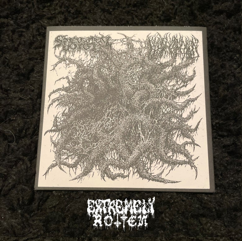 """Image of EXTREMELY ROTTEN PRODUCTIONS PRESS - SPECTRAL VOICE / BLOOD INCANTATION Split 7"""""""