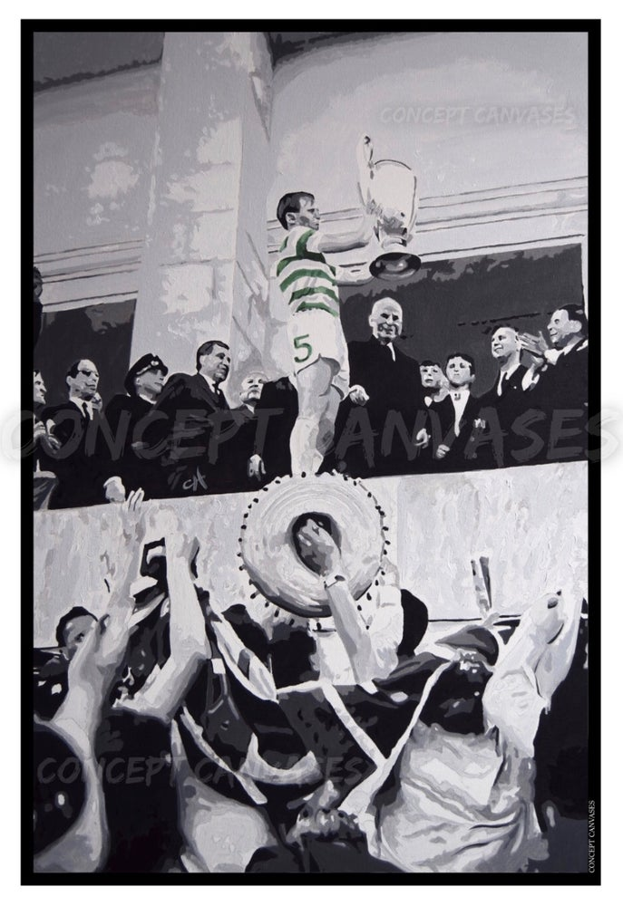 Image of Billy McNeill 'For The Fans' A3 Print