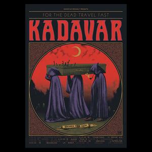 Image of 'KADAVAR France Tour 2020' Artist Proof