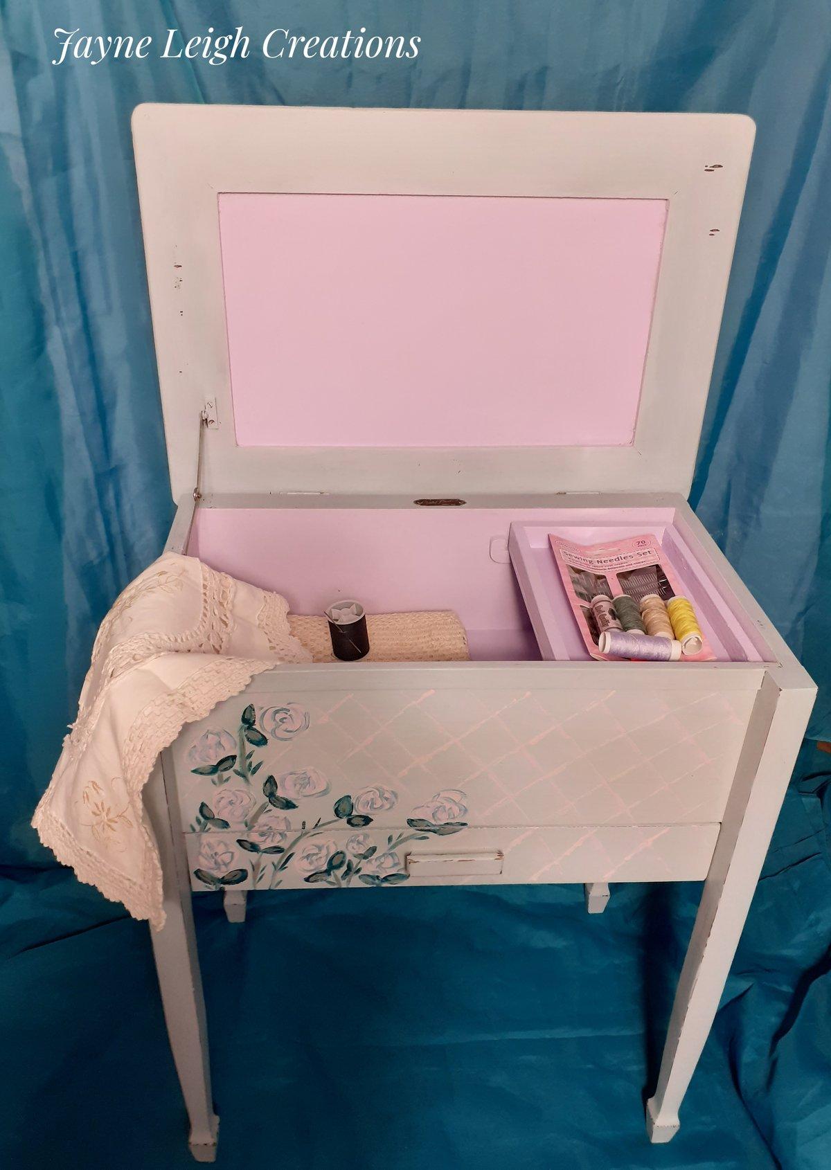 Image of Vintage Sewing Box