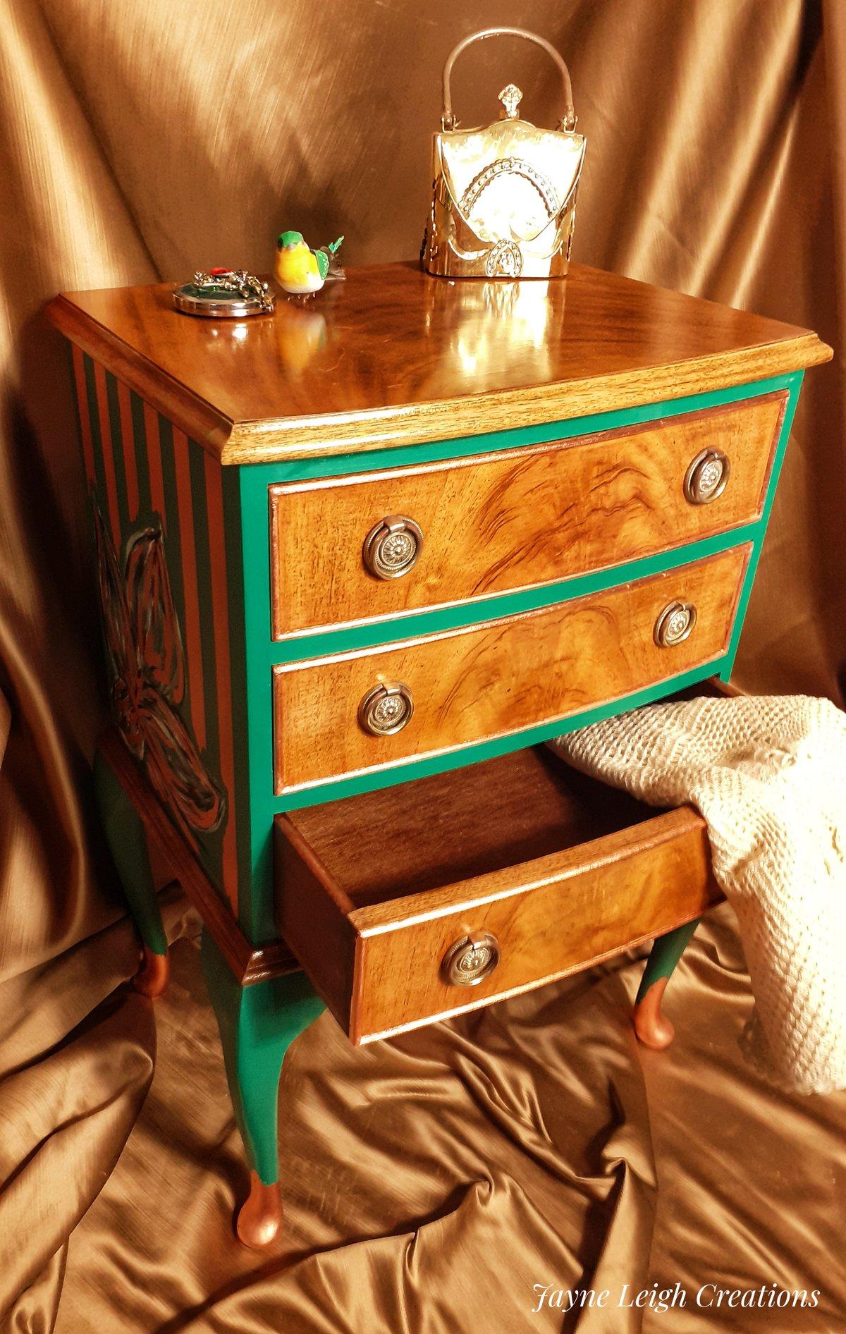 Image of Burr Walnut Drawers