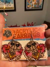 "Sam Valentines 2"" Acrylic Earrings"
