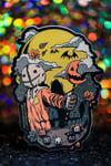 """Sam Skull 4"""" Sticker"""