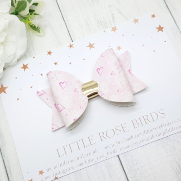 Image of Be Mine Pink Bow