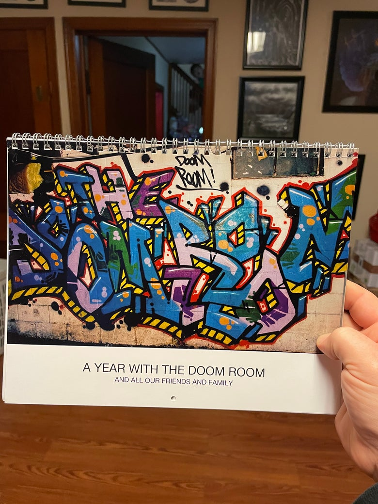Image of 2021 Doom Room and Friends Calendar!