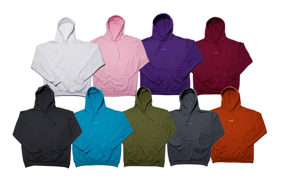 Image of SimpleSESH Tonal Embroidered Hoodie
