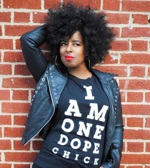 Image of I Am One Dope Chick, Classic Black Tee