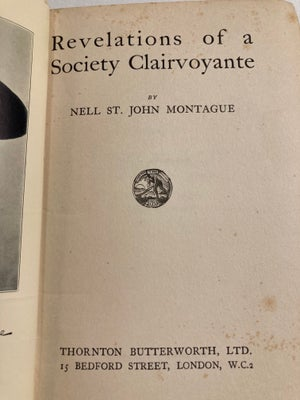 Image of Revelations of a Society Clairvoyante (1926)