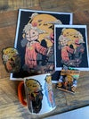 Sam Skull Watercolor Prints