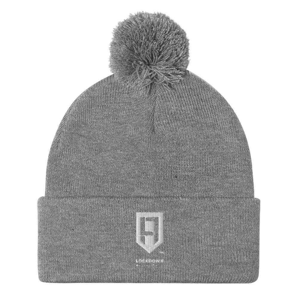 Image of Pom-Pom Knit Cap