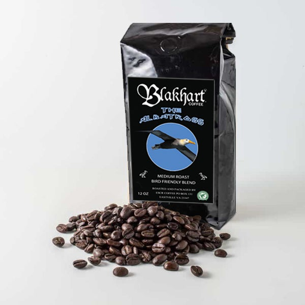 "Image of ""THE ALBATROSS"" BIRD FRIENDLY, RFA CERTIFIED MEDIUM WHOLE BEAN"