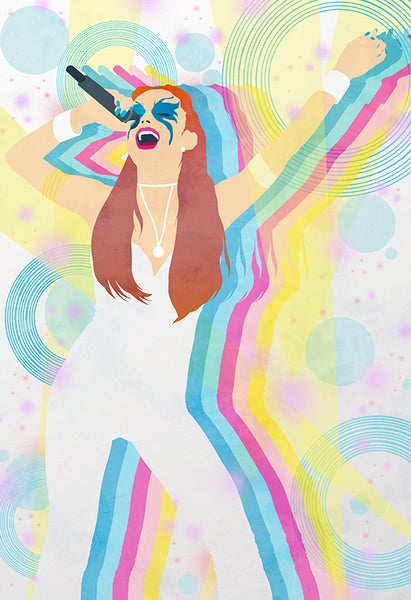 Image of Dazzler Art Print