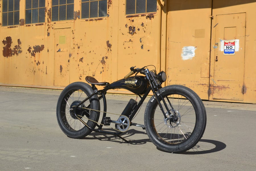 Image of IC stretched fat tire electric bike