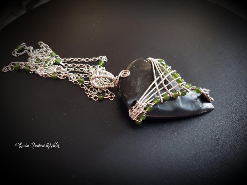 Jade Arrowhead Agate