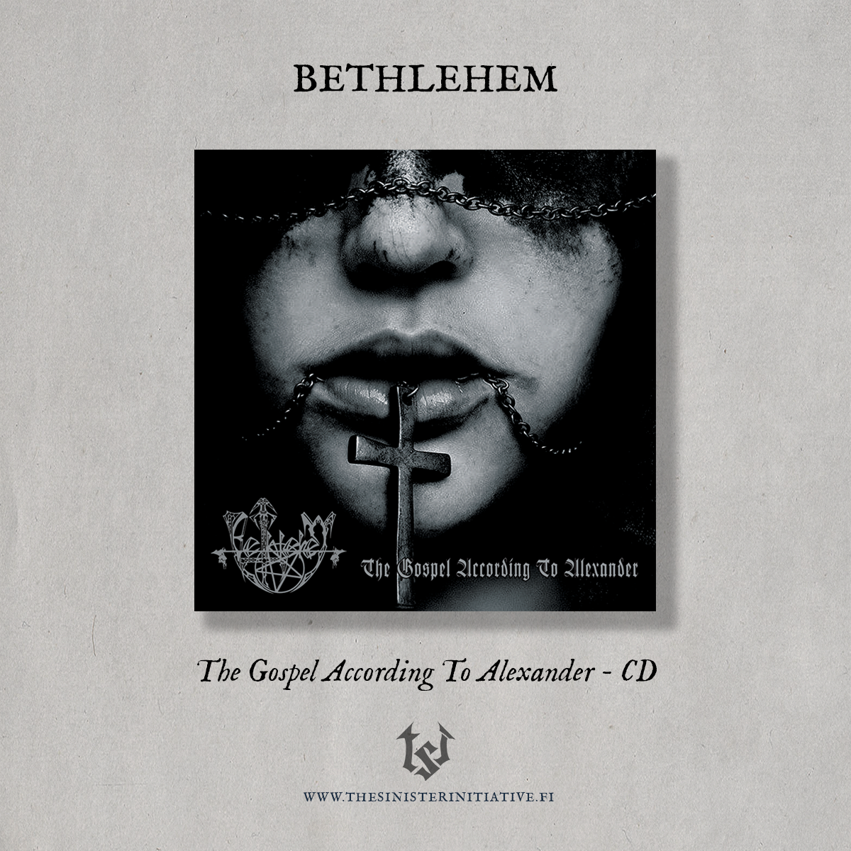 "Image of Bethlehem ""The Gospel According To Alexander"" CD"
