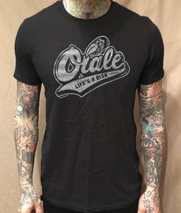 Image of ORALE BIRD BLACK TEE