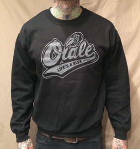 Image of ORALE BIRD CREWNECK SWEATER