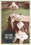 PDF Sewing Pattern - Lady Constance & Sir Charles