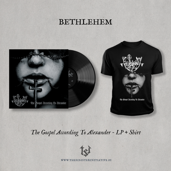 "Image of Bethlehem ""The Gospel According To Alexander"" Limited LP Bundle"