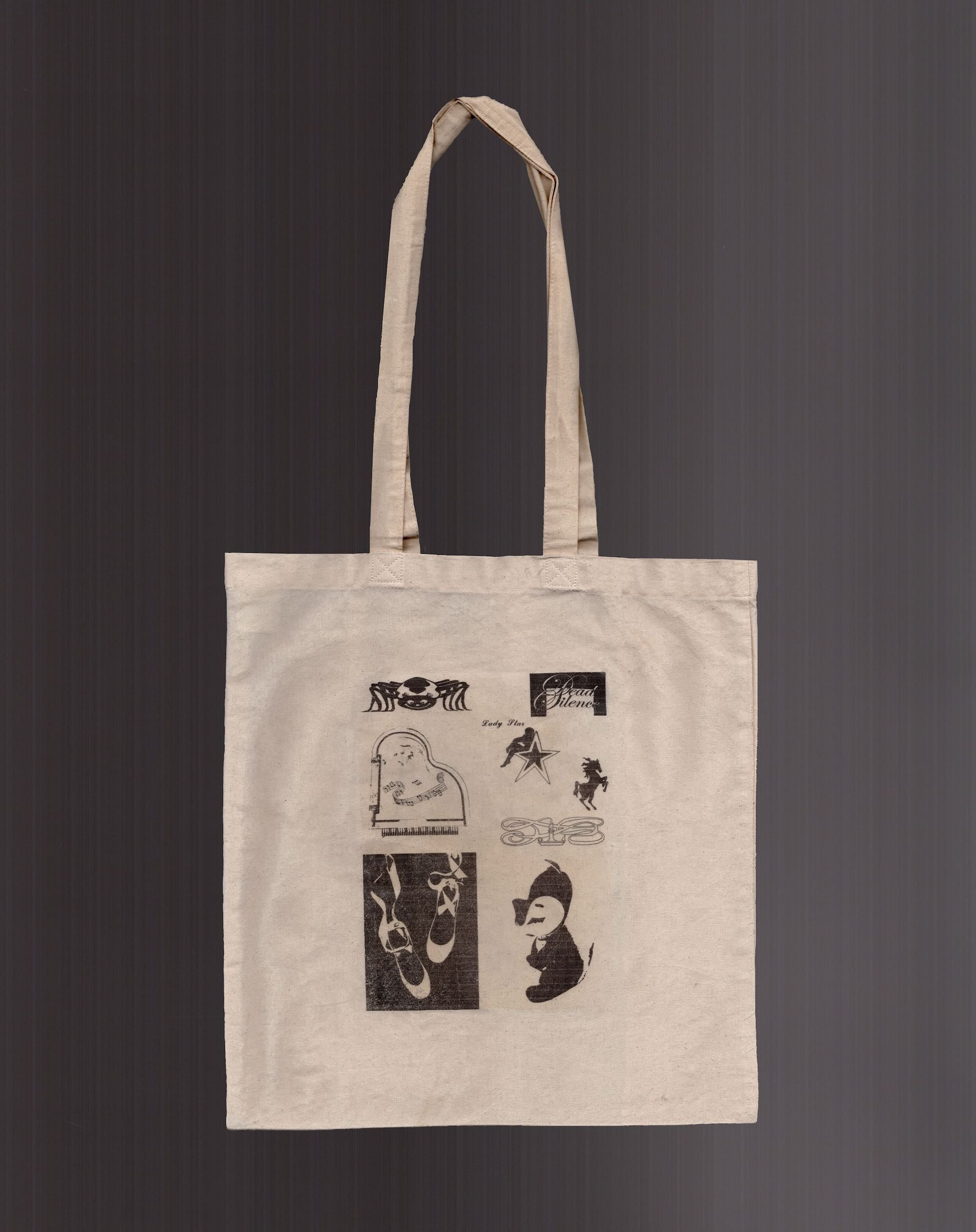 Image of Collage Print Tote Bag