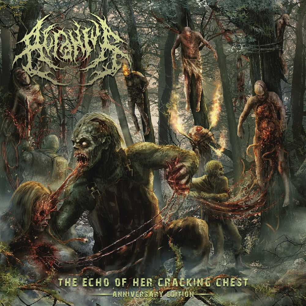 Image of Acranius - The Echo Of Her Cracking Chest (Anniversary Edition) CDEP