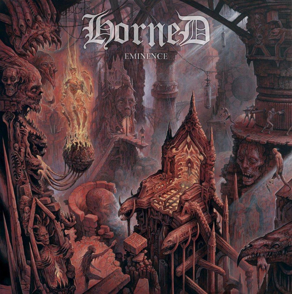 Image of Horned - Eminence CD