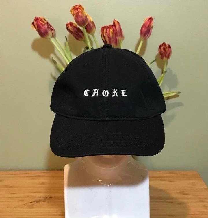 """""""Choke"""" Strap Back Hat"""