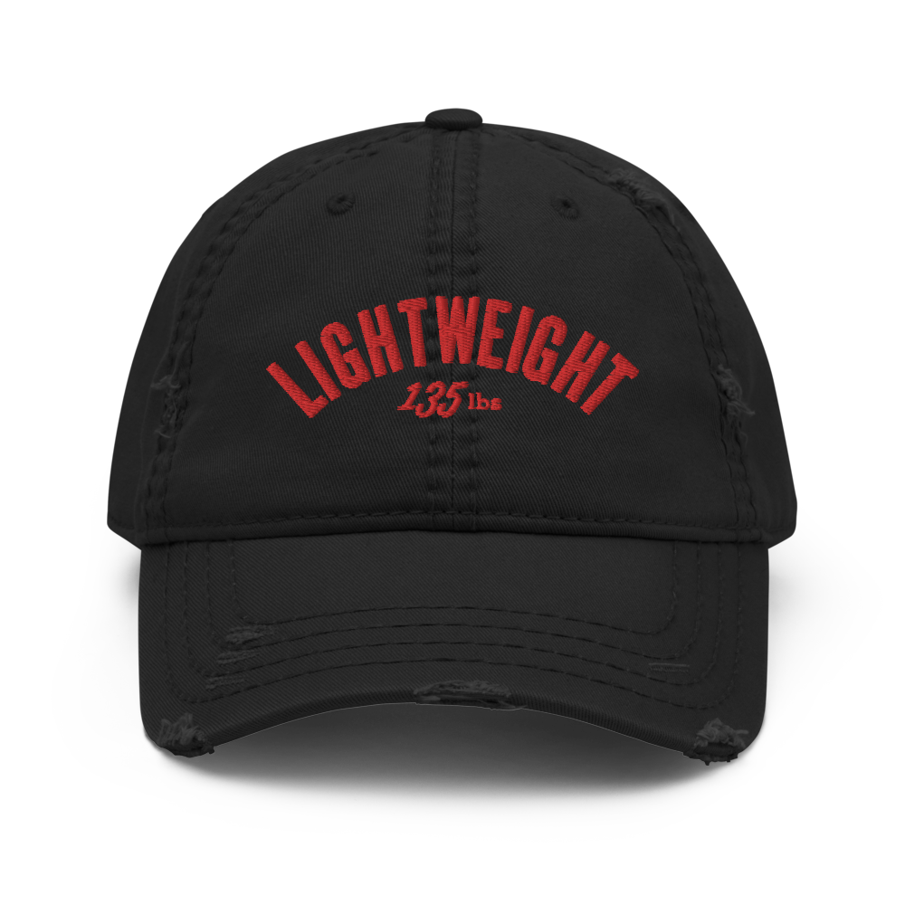 Lightweight Distressed Dad Hat (3 colors)
