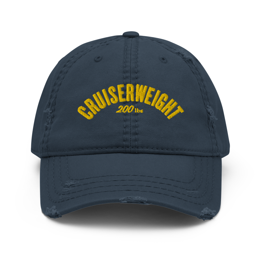 Cruiserweight Distressed Dad Hat (3 colors)