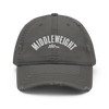 Middleweight Distressed Dad Hat (3 colors)