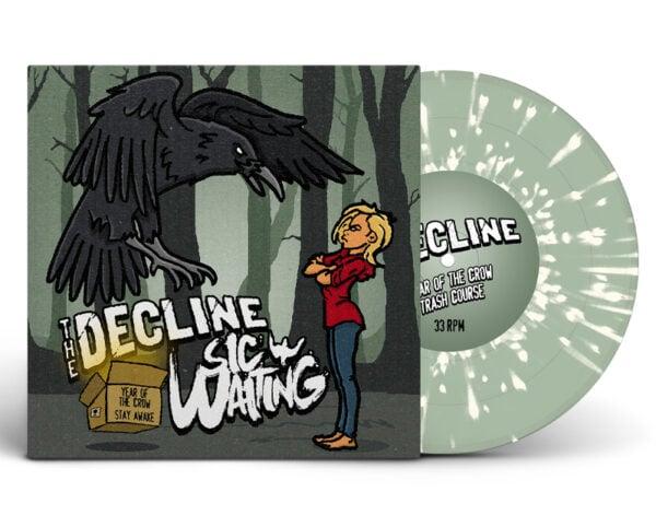 "Vinyl 7"" Split - The Decline & Sic Waiting - Year Of The Crow/Stay Awake"