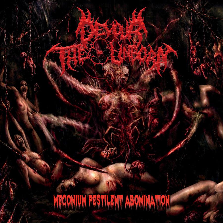 Image of Devour The Unborn - Meconium Pestilent Abomination CD