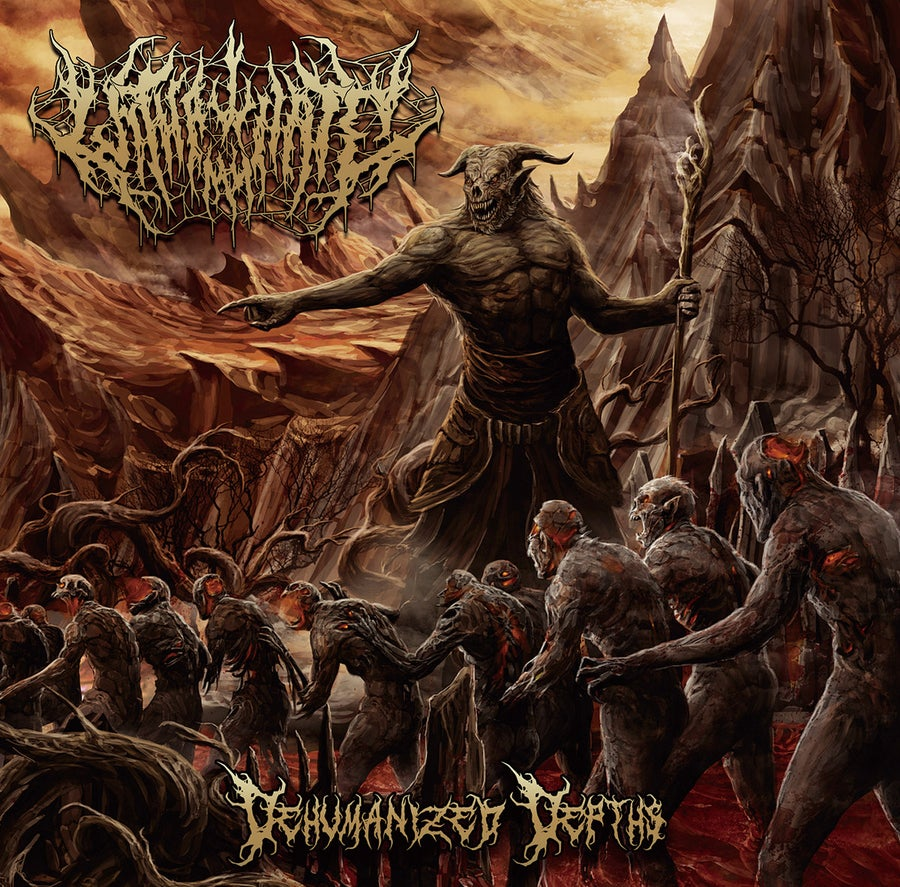 Image of With All My Hate - Dehumanized Depths CD